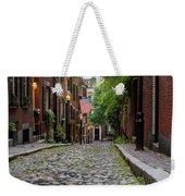 Acorn St. Boston Ma. Weekender Tote Bag