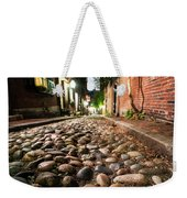Acorn Street Cobblestone Detail Boston Ma Weekender Tote Bag
