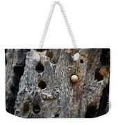 Acorn Woodpecker Cache, Sequoia National Park, Ca  September 2016 Weekender Tote Bag