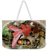 Acorns And Oak Leaves Weekender Tote Bag