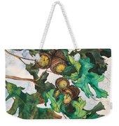 Acorns On An Oak  Weekender Tote Bag