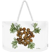 Acorns With Cedar Weekender Tote Bag