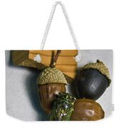 Acrons And Cicada Weekender Tote Bag