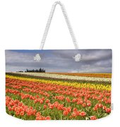Across Colorful Fields Weekender Tote Bag by Mike  Dawson