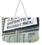 Across From The Harbor Weekender Tote Bag