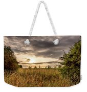 Across Golden Grass Weekender Tote Bag by Nick Bywater