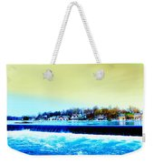 Across The Dam To Boathouse Row. Weekender Tote Bag