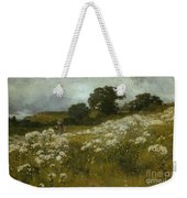 Across The Fields Weekender Tote Bag by John Mallord Bromley