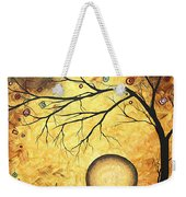 Across The Golden River By Madart Weekender Tote Bag