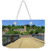 Across The Iron Bridge Weekender Tote Bag