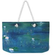 Across The Lily Pond Weekender Tote Bag
