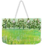 Across The Meadow Weekender Tote Bag by Jennifer Lommers