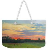 Across The Pasture Weekender Tote Bag