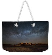 Across The Universe - Milky Way Galaxy Over Mesa In Arizona Weekender Tote Bag