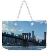 Across To Manhattan New York New York Weekender Tote Bag