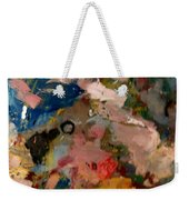 Acryl Color Abstract Weekender Tote Bag