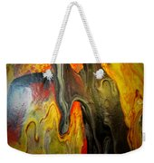 Acrylic Glass Pour 4 Weekender Tote Bag