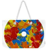 Acrylic  On  Cd  One Weekender Tote Bag