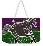 Acrylic Painted Horse On Display Fineart By Navinjoshi At Fineartamerica.com For The Fans Of Horses Weekender Tote Bag