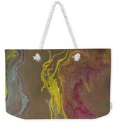 Acrylic Pour 2855 Weekender Tote Bag