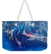 Acrylic Resin Pour Weekender Tote Bag