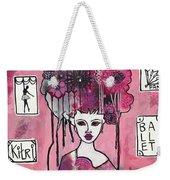 Acrylic Variations Kitri Weekender Tote Bag