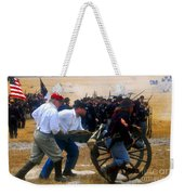 Action At The Front Weekender Tote Bag