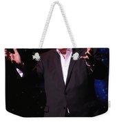 Actor And Comedian William Shatner Weekender Tote Bag