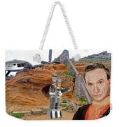 Actor Jonathan Harris As Dr Smith From Lost In Space II Weekender Tote Bag