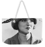 Actress Agnes Ayres Weekender Tote Bag