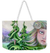 Acts Of Creation Weekender Tote Bag