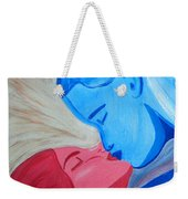Adam And Eve Close Up Weekender Tote Bag