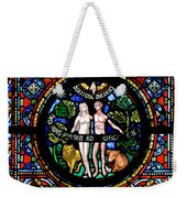 Adam And Eve, Dinant Weekender Tote Bag