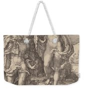 Adam And Eve Lamenting The Death Of Abel Weekender Tote Bag