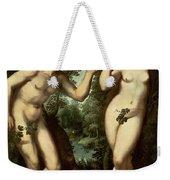 Adam And Eve Weekender Tote Bag by Peter Paul Rubens