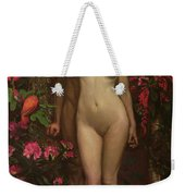 Adam And Eve With The Snake Weekender Tote Bag