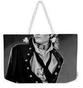 Adam Ant Painting Weekender Tote Bag