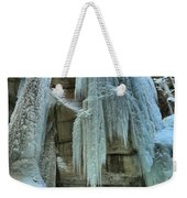 Adam Jewell At Maligne Canyon Weekender Tote Bag