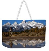 Adam Jewell At Schwabacher Landing Weekender Tote Bag