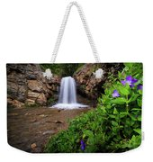 Adams Canyon Lower Falls Spring Weekender Tote Bag