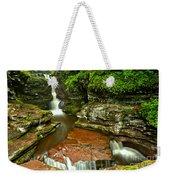 Adams Falls Landscape Weekender Tote Bag