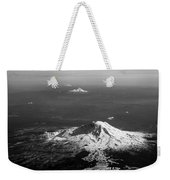 Adams Hood Jefferson And The Three Sisters Weekender Tote Bag by Mary Lee Dereske