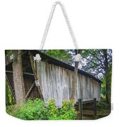 Adams/san Toy Covered Bridge  Weekender Tote Bag