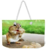 Addicted To Nuts Weekender Tote Bag