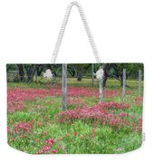 Adding A Splash Of Color-indian Paintbrush In Texas Weekender Tote Bag