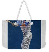Addison Russell Chicago Cubs Art Weekender Tote Bag