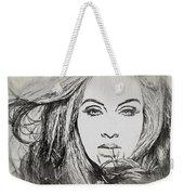 Adele Charcoal Sketch Weekender Tote Bag