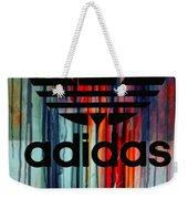 Adidas Plakative - Typografie Weekender Tote Bag