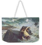 Adieu Weekender Tote Bag by Alfred Guillou