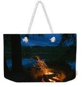 Adirondack Campfire Weekender Tote Bag